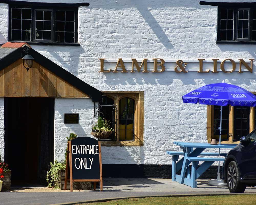 Lamb & Lion, Hambridge village pub